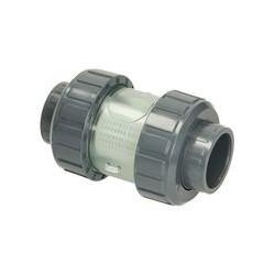 Filtre d'impuretés PVC Ø 50 mm, tamis 1,8 mm avec tuyau filtrage plastique
