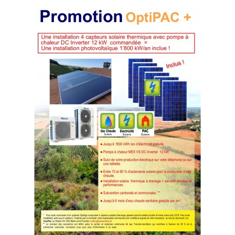 Promotion OptiPAC +