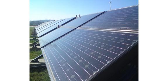 Hybride panneaux photovoltaïque